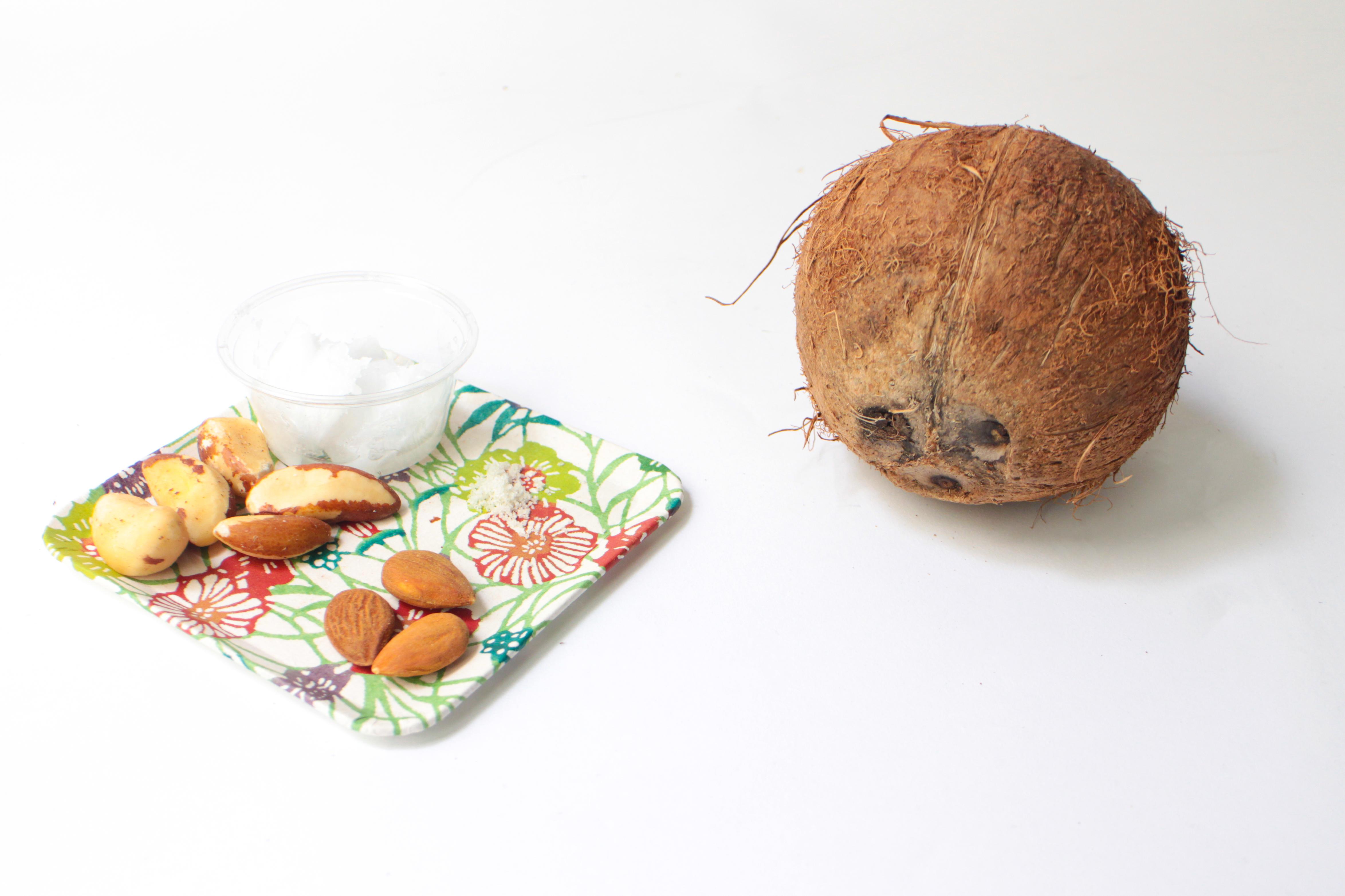 ingred 1 Pâte à tartiner maison aux amandes et noix
