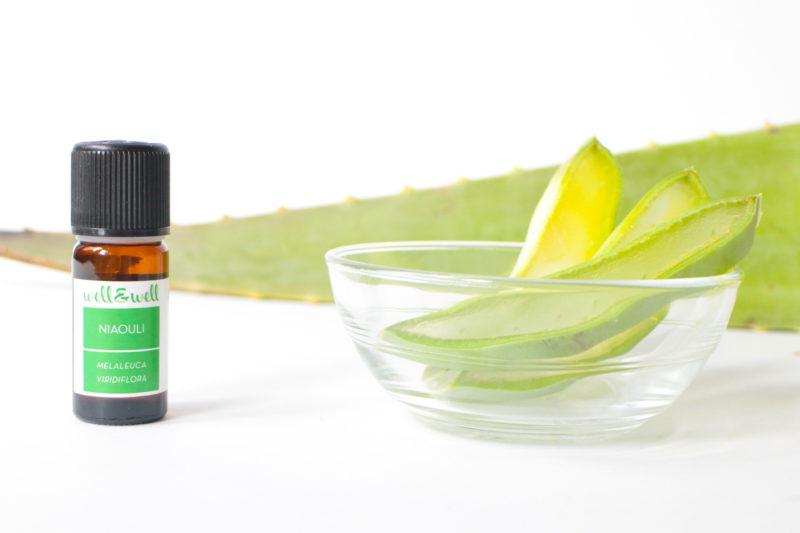 huile essentielle niaouli aloe vera well and well e1575296036218 5 astuces beauté avec lAloe Vera