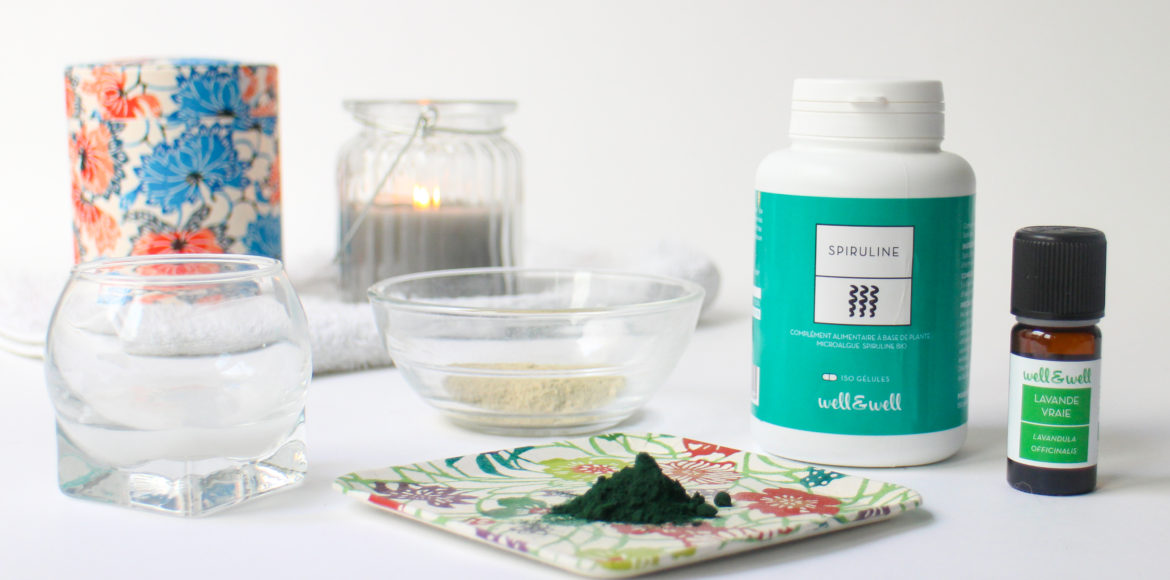 DIY masque Spiruline wellandwell